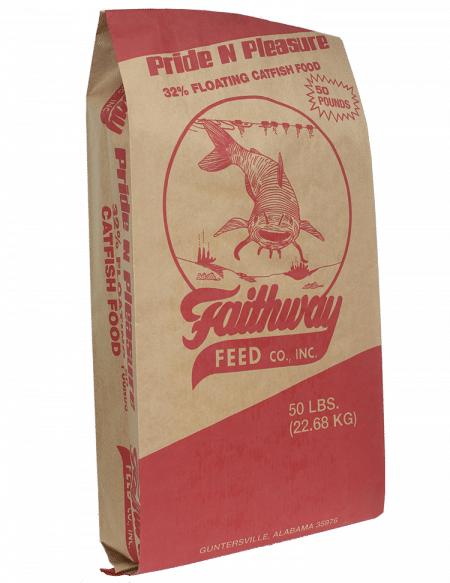 Pride & Pleasure 32% Floating Catfish Food
